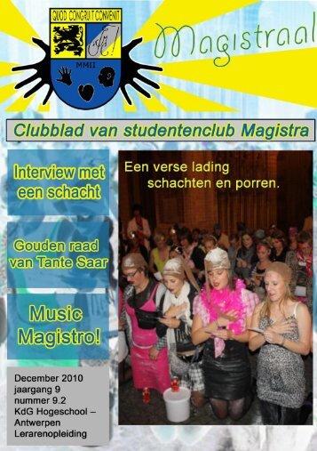 MAGISTRAAL editie 9.2