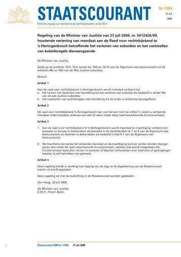 staatsbladen 2002 - Wsnp - Raad voor Rechtsbijstand