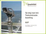 Presentatie Frank Markerink - NVP