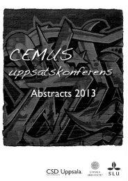 Abstract - cemus course portal