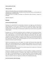 Politisk plattform för VFSN - Vänskapsförbundet Sverige-Nicaragua