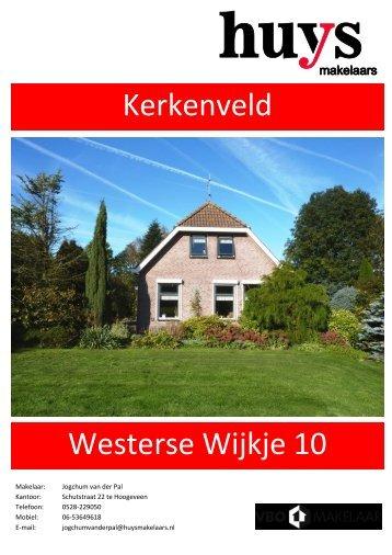 Kerkenveld Westerse Wijkje 10 - Huys Makelaars