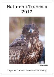 Naturen i Tranemo 2012 - Tranemo Naturskyddsförening