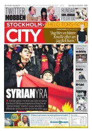 Stockholm City - Nonicoclolasos
