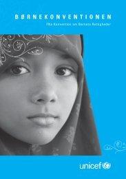Børnekonventionen - Unicef