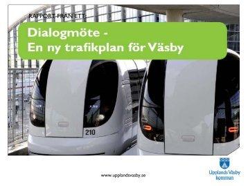 Markering rubrik - Upplands Väsby kommun