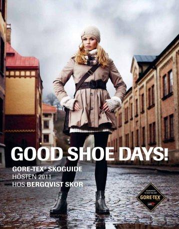 GOOD SHOE DAYS! - Bergqvist skor