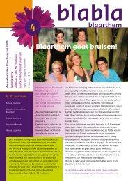 BlaBlaBlaarthem juli 2009 PDF - Stichting Blaarthem
