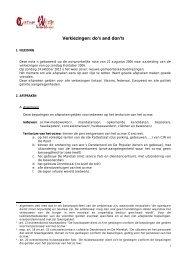 12 OCMW Geraardsbergen Afsprakennota verkiezingen - Kortom