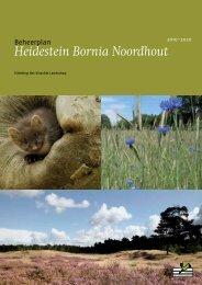 Heidestein Bornia Noordhout - Utrechts Landschap