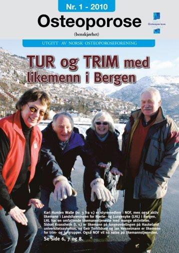 Les artiklene fra nr 1... - Norsk Osteoporoseforening