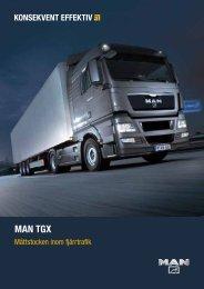 TGX brochure (sv) - MAN Truck & Bus Sverige AB