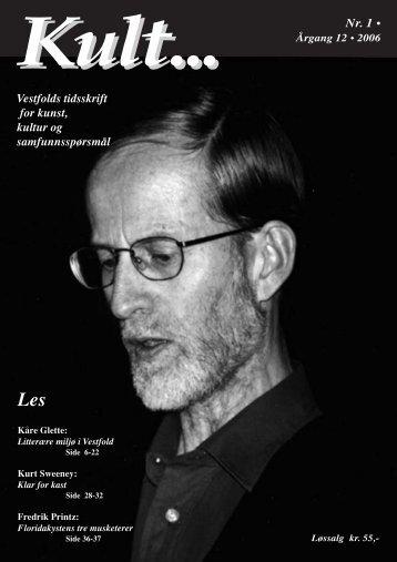 Last ned Kult... i PDF-format - Kult... Vestfolds tidsskrift for kunst ...