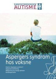 Download pjecen 'Aspergers syndrom hos voksne'