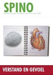 spino-verstand en gevoel - design 1.indd - Humanistisch Verbond