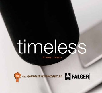 Timeless catalogus - van Megchelen International bv