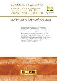 BEDRIJFSPORTRET VARKENSHOUDERIJ - Bio Zoekt Boer