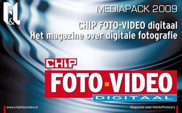 CHIP FOTO-VIDEO digitaal Het magazine over ... - F&L Publications