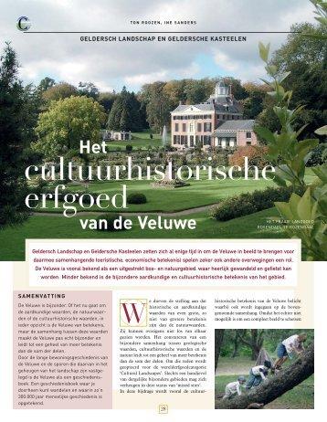 Het cultuurhistorische erfgoed van de Veluwe - Vitruvius