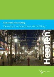 Beleidsplan openbare verlichting (pdf) - Gemeente Heerlen
