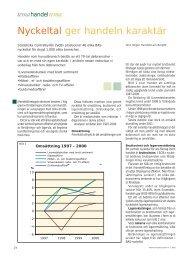 Nyckeltal ger handeln karaktär - EkonomiTolken