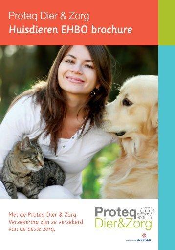 Huisdieren EHBO brochure