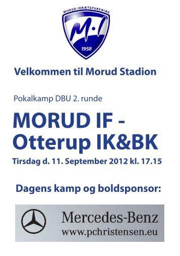 Program - Morud IF - Fodbold