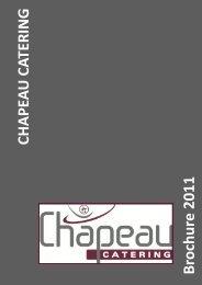 Brochure 2011 - Chapeau Catering