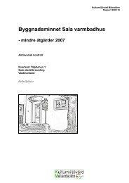 Byggnadsminnet Sala varmbadhus - KMMD