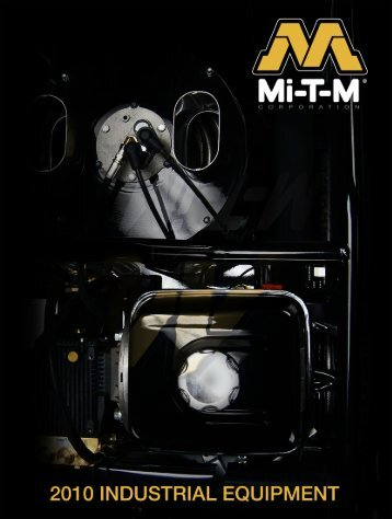 Mi-T-M Industrial Catalogue - Under Pressure Systems