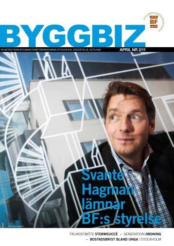 Svante Hagman lämnar BF:s styrelse - stockholmsbf