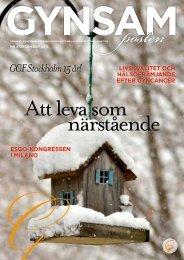 GCF Stockholm 15 år! - Gynsam