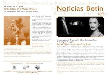 Noticias Botín - Botin