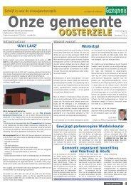 December 2011 - Gemeente Oosterzele