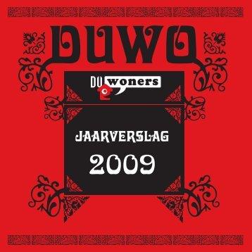 Jaarverslag 2008 Duwoners (met illustraties)