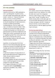 Nyhedsbrev april 2013.pdf - Grønnebakken