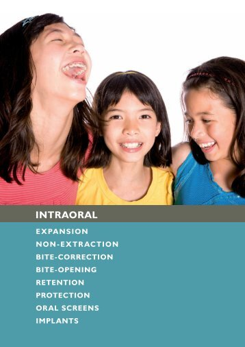 INTRAORAl ApplIANCES - Ortho-Trends