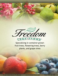 Container Catalog - Freedom Tree Farms