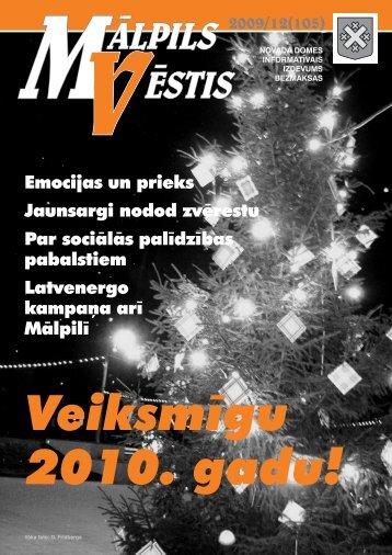 Nr. 12 (105) Decembris - Mālpils