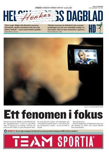 I Henriks - Helsingborgs Dagblad