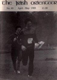 Issue 40, Apr 1989 - Orienteering in Ireland