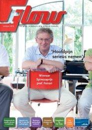 Flow magazine voorjaar 2010 - Linde Gas Benelux
