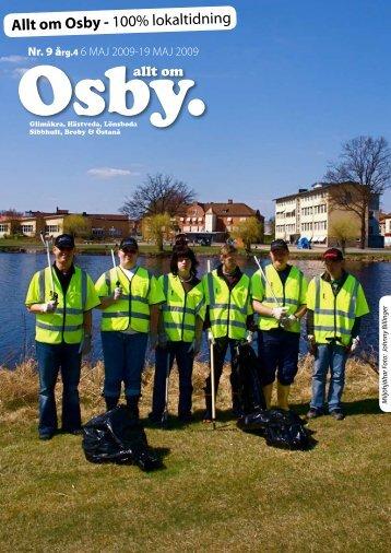 Allt om Osby - 100% lokaltidning