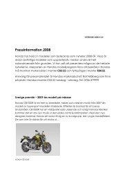 Pressinformation 2008