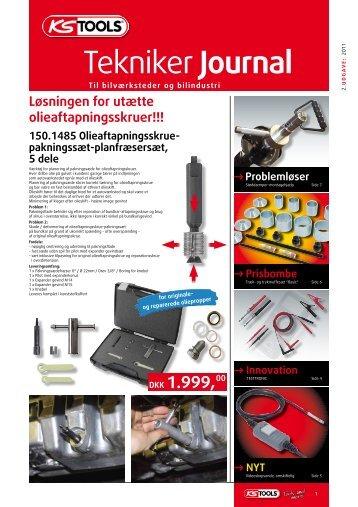 Tekniker Journal - Globaltools.dk