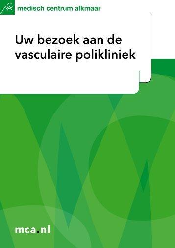 Uw bezoek aan de vasculaire polikliniek - Mca