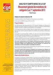 analyse et cr cap mut au 1er sept 2013 ff. - Syndicat CGT des ...