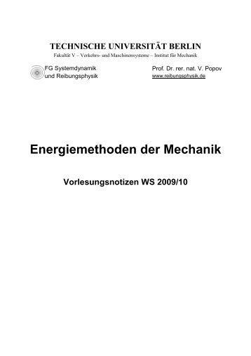 3 lagrange mechanik for Grundlagen der mechanik