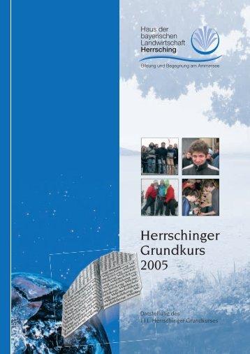 Herrschinger Grundkurs 2005