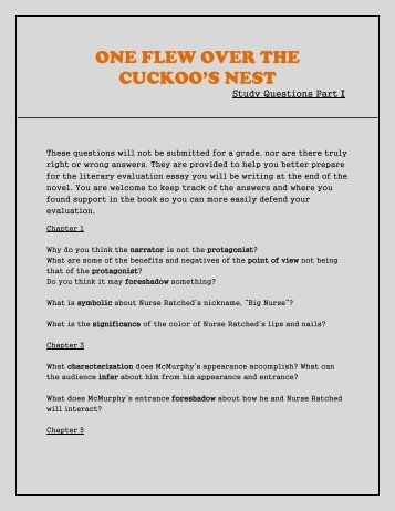 one flew over the cuckoos nest satire terms analysis essay